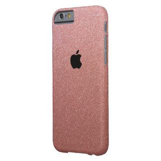 Funda Barely There iPhone 6 Apple Iphone 6/6s subió el oro brilló caso de