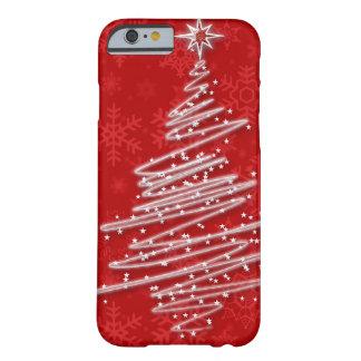 Funda Barely There iPhone 6 Árbol de navidad garabateado