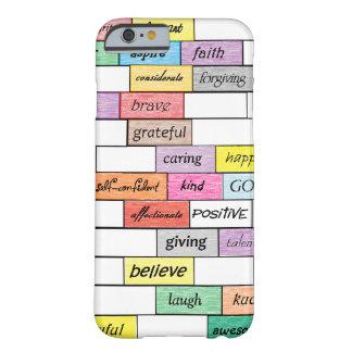 Funda Barely There iPhone 6 Arco iris del caso inspirado del iPhone 6 de la