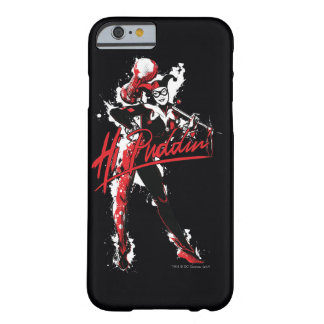"Funda Barely There iPhone 6 Arte de la tinta del Puddin'"" de Batman el 
