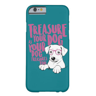 Funda Barely There iPhone 6 Atesore su phonecase del perro