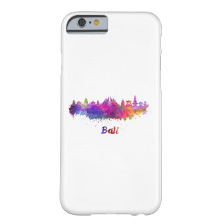 Funda Barely There iPhone 6 Bali skyline in watercolor