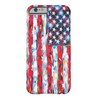 Funda Barely There iPhone 6 Bandera americana