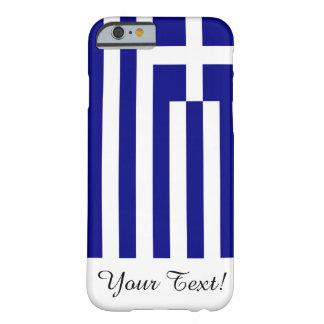 Funda Barely There iPhone 6 Bandera de Grecia