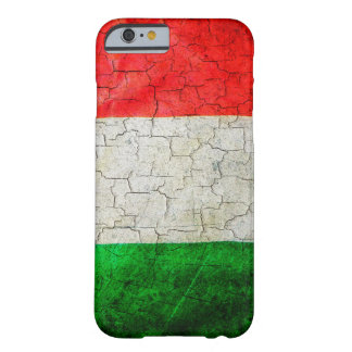 Funda Barely There iPhone 6 Bandera de Italia del Grunge