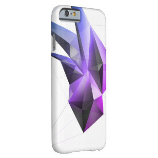 Funda Barely There iPhone 6 (Base Miami) caso cristalino abstracto del iPhone