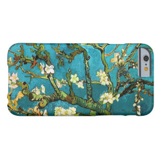 Funda Barely There iPhone 6 Bella arte floreciente del árbol de almendra de