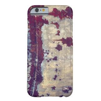 Funda Barely There iPhone 6 Belleza del color y textura en metal aherrumbrado
