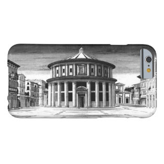 Funda Barely There iPhone 6 Blanco IDEAL del negro de la arquitectura del