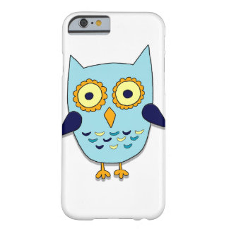 Funda Barely There iPhone 6 Búho azul