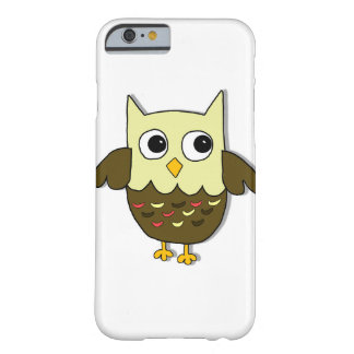 Funda Barely There iPhone 6 Búho de Brown