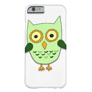 Funda Barely There iPhone 6 Búho verde