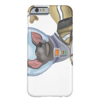 Funda Barely There iPhone 6 Cadete del perro del espacio