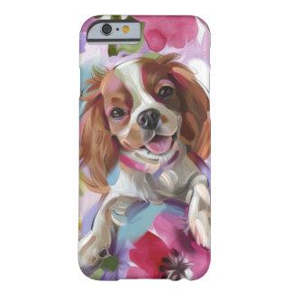 Funda Barely There iPhone 6 Caja arrogante del teléfono del arte del perro del