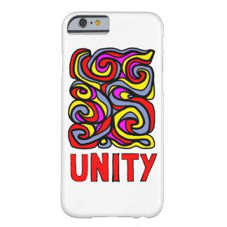 """Funda Barely There iPhone 6 Caja brillante del teléfono de la """"unidad"""""""