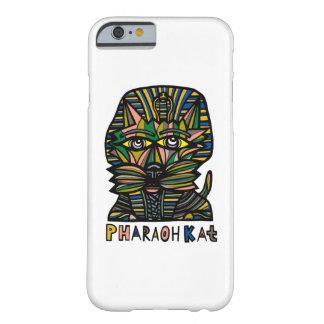 "Funda Barely There iPhone 6 ""Caja brillante del teléfono del Kat del Pharaoh"""