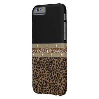 Funda Barely There iPhone 6 Caja ceñida de IPhone 6 del leopardo