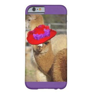Funda Barely There iPhone 6 Caja colorida del iPhone 6 de la alpaca