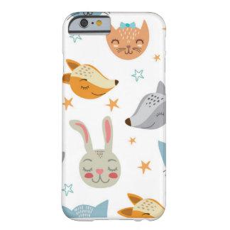 Funda Barely There iPhone 6 Caja del teléfono - animales lindos