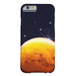 Funda Barely There iPhone 6 Caja del teléfono celular de Marte del planeta