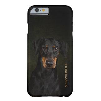 Funda Barely There iPhone 6 Caja del teléfono de Dobermann