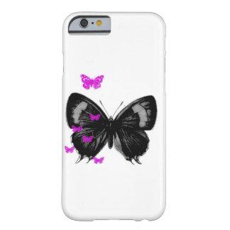 Funda Barely There iPhone 6 caja del teléfono de la mariposa