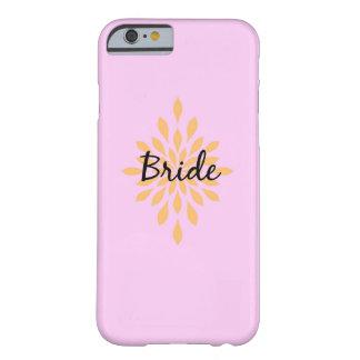 Funda Barely There iPhone 6 Caja del teléfono de la novia