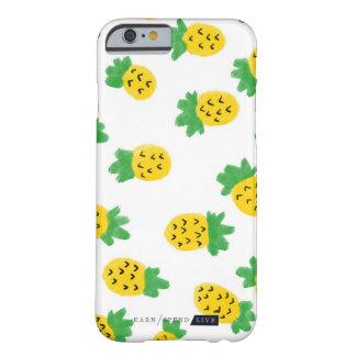 Funda Barely There iPhone 6 Caja del teléfono de las piñas del verano