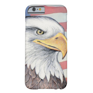 "Funda Barely There iPhone 6 Caja del teléfono de Paul McGehee ""American Eagle"""