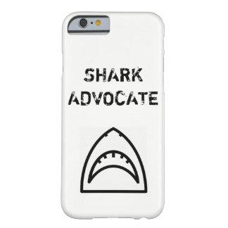 Funda Barely There iPhone 6 Caja del teléfono del abogado del tiburón