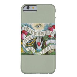 Funda Barely There iPhone 6 Caja del teléfono del amor y de la amistad el |