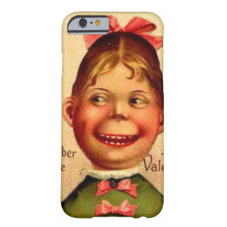 Funda Barely There iPhone 6 Caja del teléfono del chica de la tarjeta del día