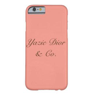 Funda Barely There iPhone 6 Caja del teléfono del iPhone 6/6s de YazieDior