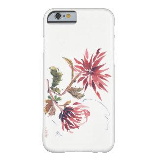 Funda Barely There iPhone 6 caja del teléfono del iPhone 6 con las flores
