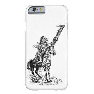 Funda Barely There iPhone 6 Caja del teléfono del nativo americano