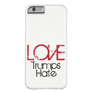 Funda Barely There iPhone 6 Caja del teléfono del odio de los triunfos del