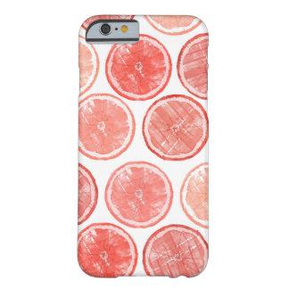 Funda Barely There iPhone 6 Caja del teléfono del pomelo de la acuarela
