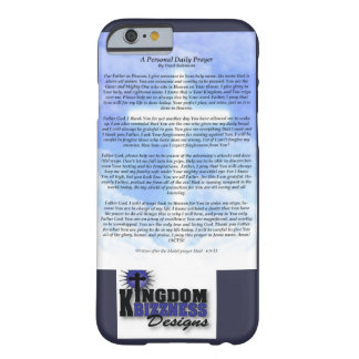 Funda Barely There iPhone 6 Caja diaria del teléfono del rezo
