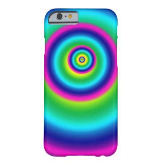 Funda Barely There iPhone 6 Caja espiral del teléfono del arco iris