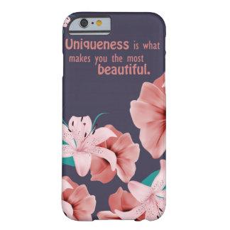 Funda Barely There iPhone 6 Caja hermosa del teléfono con cita impresionante