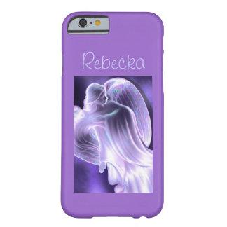 Funda Barely There iPhone 6 Caja púrpura del teléfono del ángel