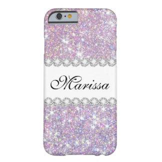 Funda Barely There iPhone 6 Caja púrpura rosada del iPhone 6/6s de la casamata