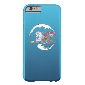 Funda Barely There iPhone 6 Caja roja 2017 del iPhone 6/Plus de Hippicorn de