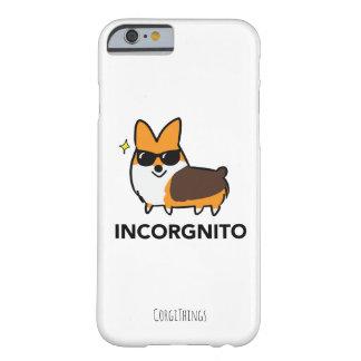 Funda Barely There iPhone 6 Caja tricolora del teléfono del Corgi de