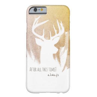 Funda Barely There iPhone 6 Cajas del teléfono de Patronus de los ciervos del
