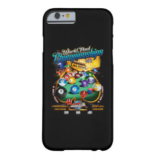 Funda Barely There iPhone 6 Campeonatos 2017 de la piscina del mundo de APA