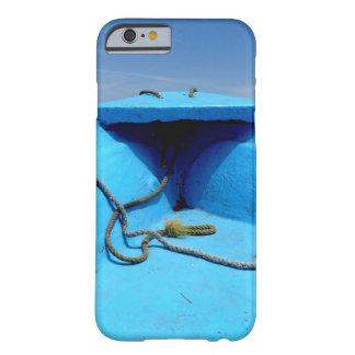 Funda Barely There iPhone 6 Canoa azul con la cuerda
