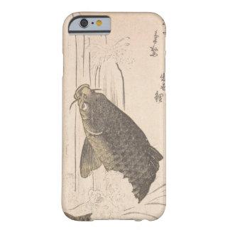 Funda Barely There iPhone 6 Carpa de Kurokawa Michita que intenta nadar encima