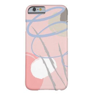 Funda Barely There iPhone 6 Cáscara feliz del teléfono del modelo del humor