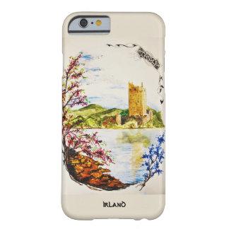 Funda Barely There iPhone 6 casco acuarela Castillo arruina Irlanda primavera